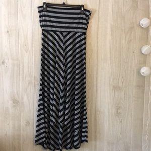 Olivia Moon Strapless Dress Size S